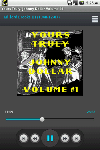 Yours Truly Johnny Dollar V 1
