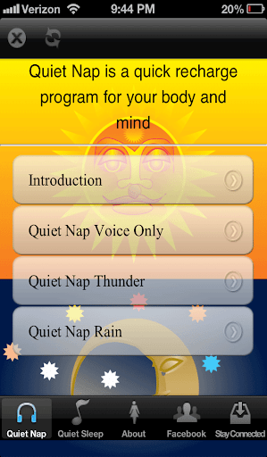 【免費醫療App】Quiet Sleep Quiet Nap-APP點子