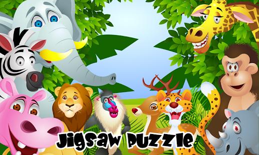 Kid Animal Puzzle