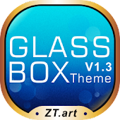 Glass Box GO Getjar Theme