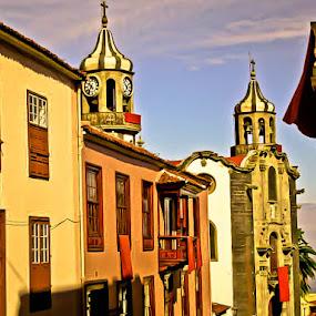 La Orotava, Tenerife by Plamen Valkovski - City,  Street & Park  Historic Districts