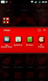 WoW Horde Go Launcher Theme - screenshot thumbnail