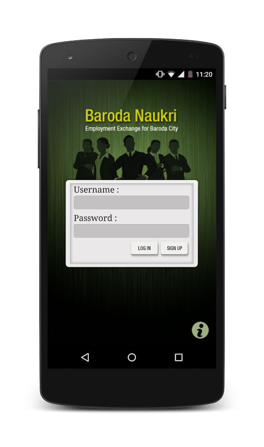 BarodaNaukri.com- screenshot