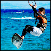 Kitesurfing illustrated