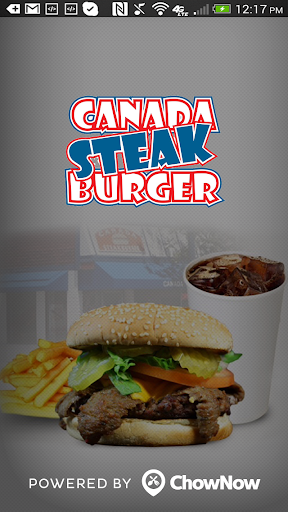 Canada Steak Burger