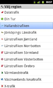 Hallandstrafiken - screenshot thumbnail