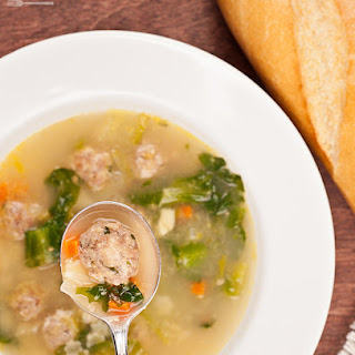 Italian Wedding Soup With Pasta Recipes.
