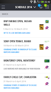 TennisTV:Live Streaming Tennis- screenshot thumbnail