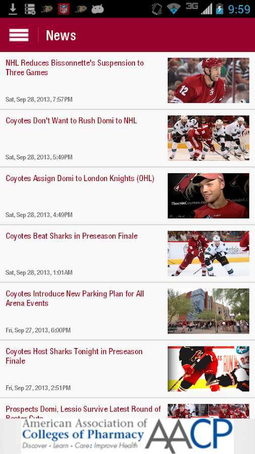 Phoenix Coyotes - screenshot