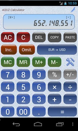 AQUZ Calculator
