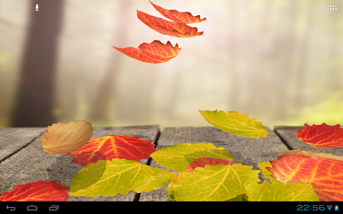 【免費個人化App】Falling Leaves Wallpaper Lite-APP點子