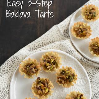 Mini Baklava Tarts.