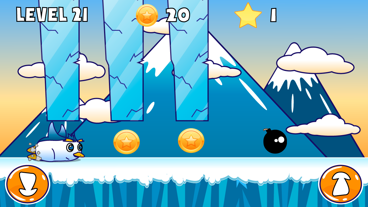 Penguin Run:A Frozen Adventure - screenshot