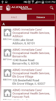 Screenshot of Alexian Brothers Health System