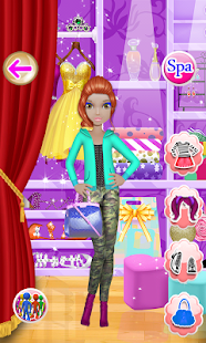 Doll Makeover Dress Up Games- screenshot thumbnail