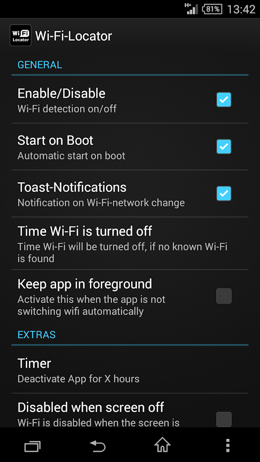 Wi-Fi-Locator - screenshot