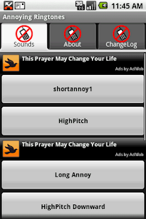 Annoying Ringtones - screenshot thumbnail