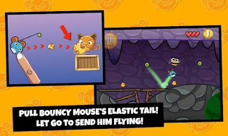Bouncy Mouse Free Screenshot 1