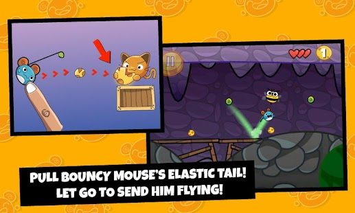 Bouncy Mouse Free- screenshot thumbnail