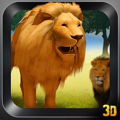 Недвижимость лев Attack Sim 3D