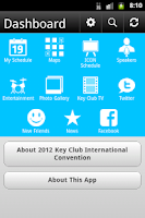 Screenshot of 2012 Key Club International