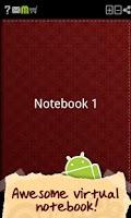Screenshot of My Notebook