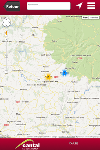 Cantal Mobilis- screenshot