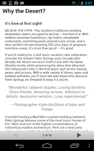 Palm Springs Weddings- screenshot thumbnail