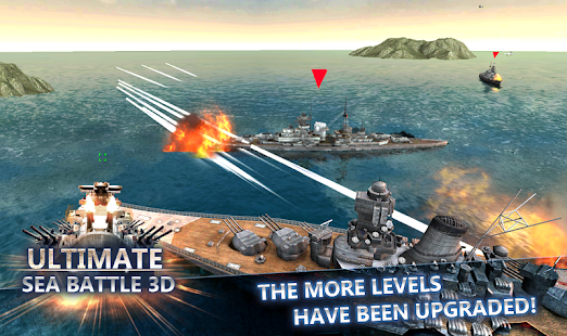 Sea Battle :Warships (3D)- screenshot thumbnail