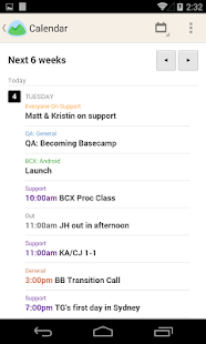Basecamp - Official App - screenshot thumbnail