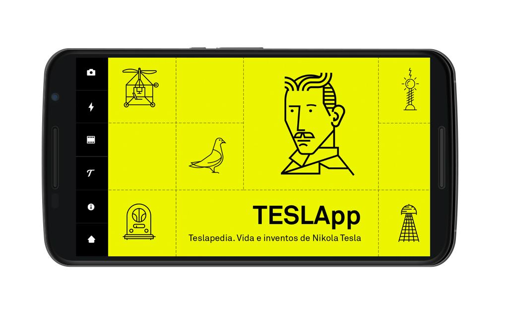 Teslapedia: captura de pantalla