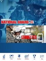 Screenshot of Connecticut National Guard