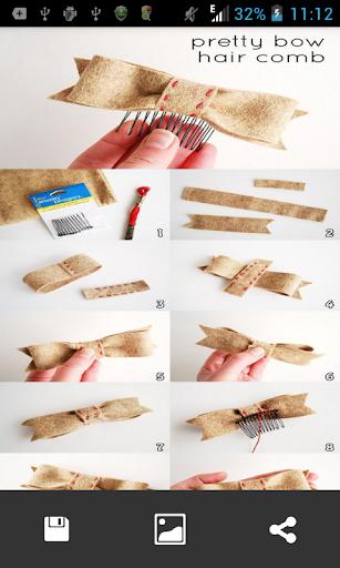 頭飾編織步驟