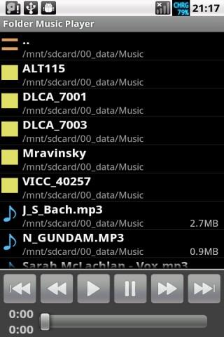 Folder Music Player Pro No Ads - screenshot