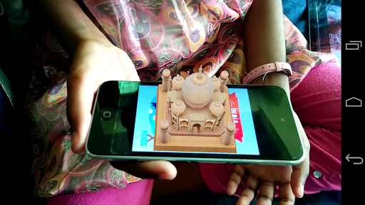 Taj Mahal Augmented Reality