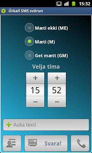 Útkall SMS Svörun