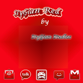 ADW theme StyGian Red