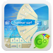 Summer surf GO Keyboard