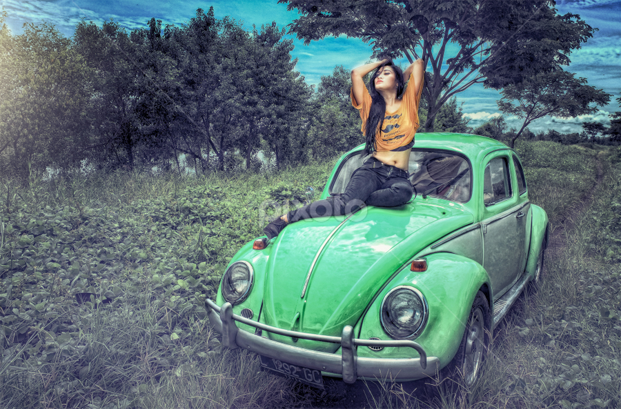 VW by Herry Wibowo - People Portraits of Women