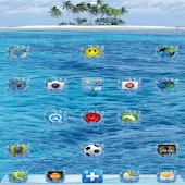 Water Sea Go Launcher Theme