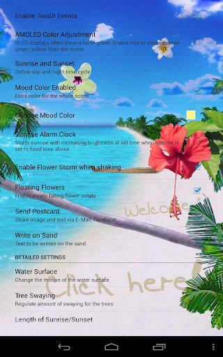 تحميل خلفية Beach Live Wallpaper،لهواتف