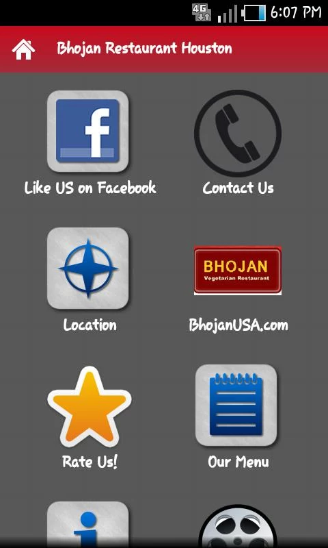 Bhojan Restaurant Houston - screenshot