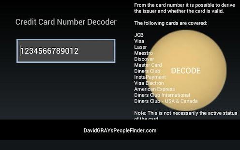 Credit Card Validation