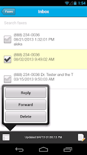 Sfax - Secure faxing on the go - screenshot thumbnail