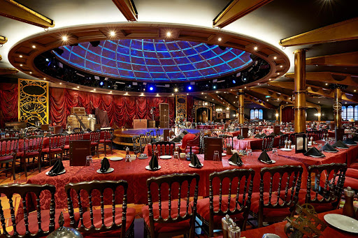 Norwegian-Getaway-Illusionarium - A highlight of your Norwegian Getaway cruise will be the Illusiionarium, which features world-class magicians performing illusions during dinner with original special effects.
