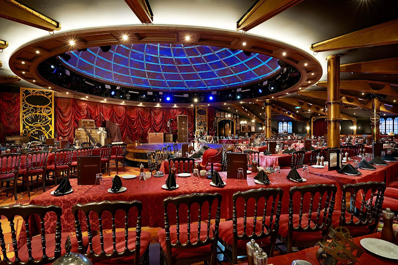 A highlight of your Norwegian Getaway cruise will be the Illusiionarium, which features world-class magicians performing illusions during dinner with original special effects.