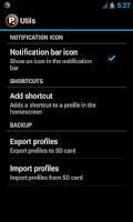 Screenshot of Profile Widget Lite