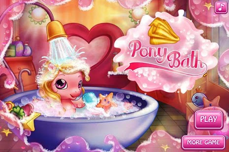 Pretty Pony Bath Pony Care