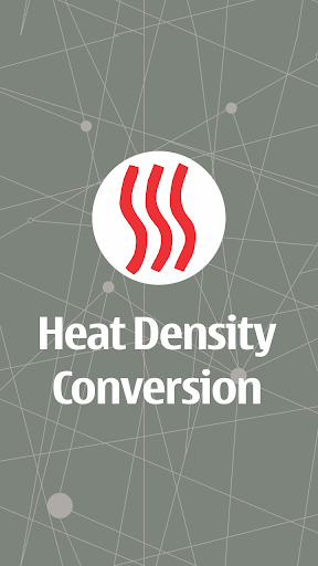 Heat Density Conversion
