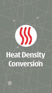 Heat Density Conversion Screenshot 1